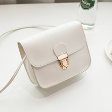 2019 New Fashion Ladies Messenger Bags Cheap Hasp PU Leather Small Shoulder