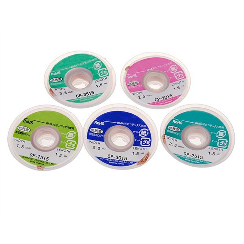 Hot Sale High Quality 5 pcs/lot BGA Desoldering Wire CP-1515 CP-2015 CP-2515 CP-3015 CP-3515 / Soldering Accessory
