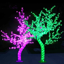 2m artificial outdoor small led christmas tree wedding artificial blossom tree with simulation trunk - Small Lighted Christmas Trees