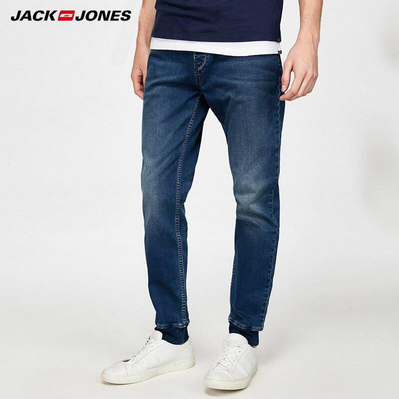 Jack Jones Brand 2018 NEW fashion comfortable elastic long male <font><b>jeans</b></font> |218132559