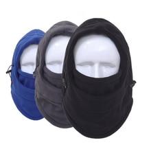 Outdoor Sports Neck Fleece Breathable Hat Headgear Winter Skiing Ear Windproof Warm Mask Motorcycle Bicycle Scarf