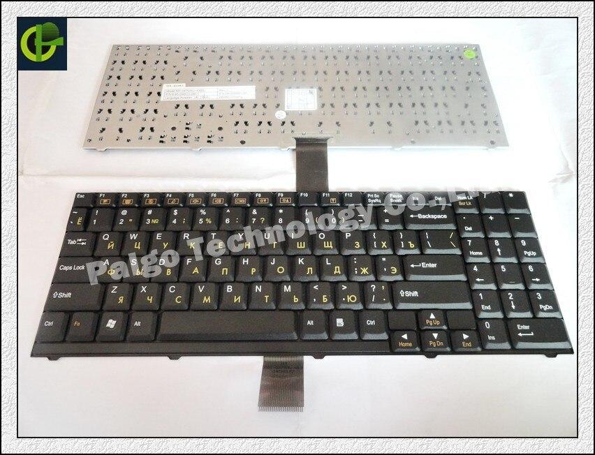 Clavier russe pour CLEVO HASEE D9 D90 D900 D900C D27 D470 D70 M590 MP-03753SU-4305L NOIR RU