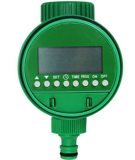 Χρονοδιακόπτης νερού άρδευσης Ψηφιακός και ηλεκτρονικός LCD κήπος Χρονοδιακόπτης νερού Σύστημα άρδευσης χαμηλής πίεσης νερού