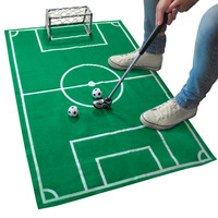 OCDAY Mini Portable Novelty Home Office Soccer Football Game Toy Set Fun Sport Gift New Arrival