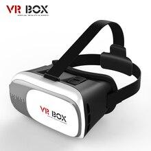 Vr Box II 2.0 Google cardboard 3D кино игры Lunettes версия виртуальной реальности Стекло для iPhone 5 6 6 S плюс Samsung S7 S6 край S5