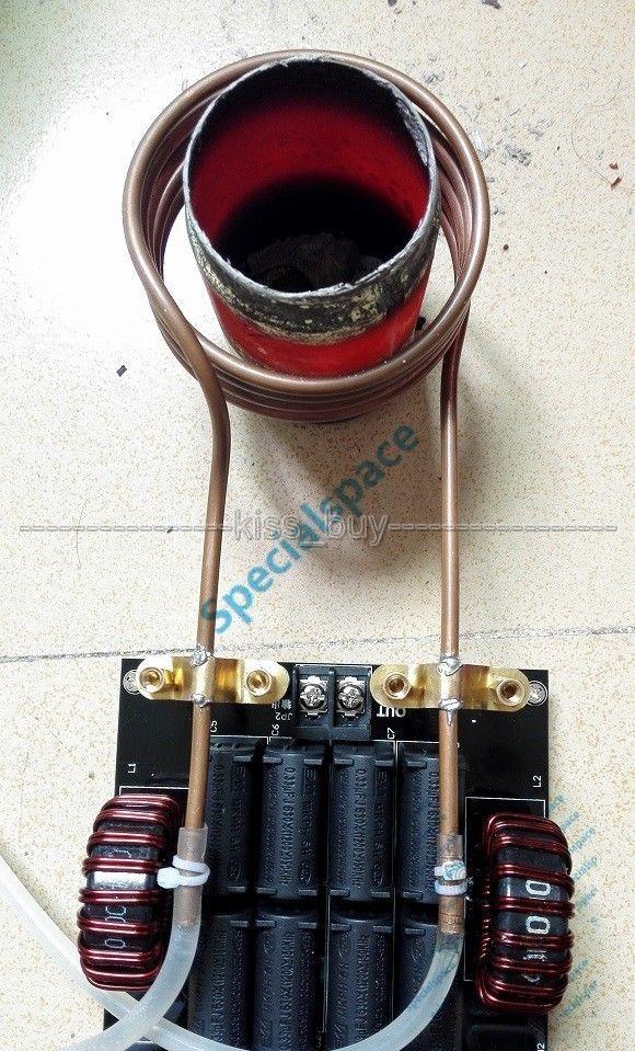 12V-30V 1000W 20A ZVS Induction Heating Board Module Heater Heizung Maschine