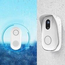 Умный беспроводной дверной звонок Rf Wifi фоторегулируемый дверной Звонок камера телефон Противоугонная сигнализация дверной звонок беспроводная домашняя камера безопасности