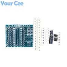 Electronic 2014 New DIY Kit SMT SMD Component Welding Practice Board 65*53mm Soldering  DIY Kit Electronic Component Design