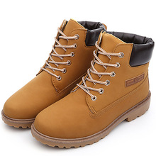 2016 Men Timber Boots Suede Leather Ankle Men Boots Winter Snow Women Boots Men Winter Shoes