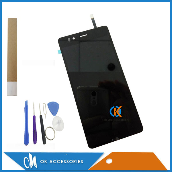 4.7 Inch For Highscreen Ice 2 Ice2 LCD Display+Touch Screen Digtizer Assembly Black Color With Tools & Tape