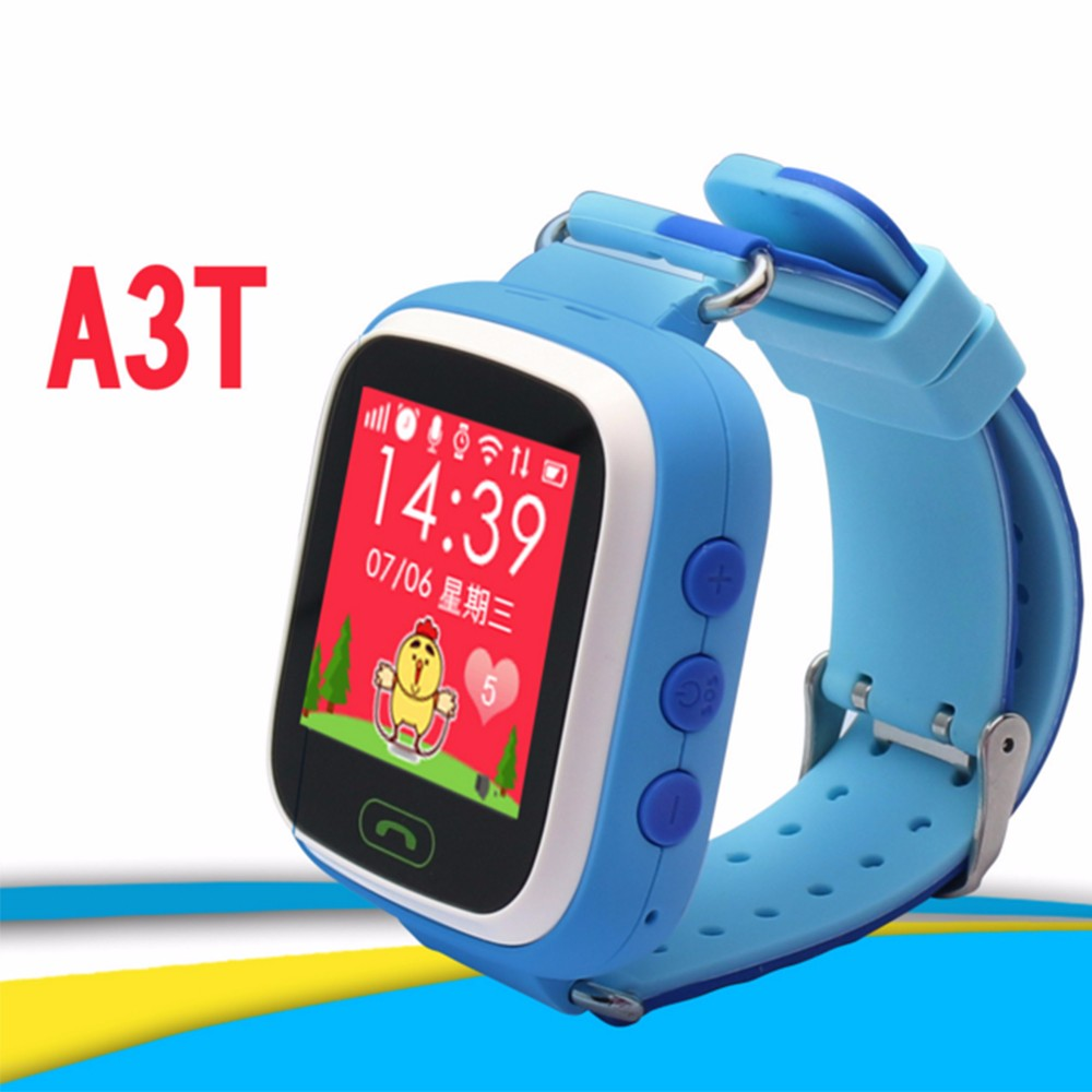 Multi functional Baby Kids Smart Wrist Watch Electronic Anti lost Watches Two Way Conversation Alarm SOS