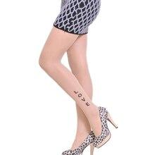 Tights Stockings Pantyhose Girls Love-Print Fashion Women Thin CUHAKCI No 1pcs Bowknot
