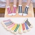 2016 verano de las muchachas del algodón calcetines barco calcetines de los niños calcetines para 1-10 años niños calcetines 10 unids = 5 par/lote Marca Niños ingenio