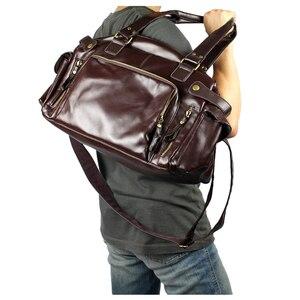 Image 3 - Bolso de hombre ABDB, bolso Retro inglés, bandolera de piel sintética para hombre, bandoleras de viaje para hombre de alta calidad