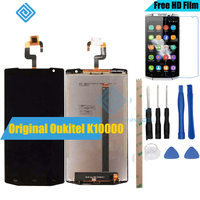 For Oukitel K10000 LCD Display And TP Touch Screen Digitizer Assembly Lcds Tools 5 5 Oukitel