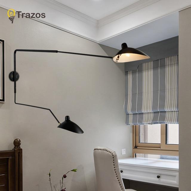 Moderne Dekoration Kopf Wohnzimmer Serge Mouille Wandleuchte Schlafzimmer  Duck Esszimmer Licht Freies Verschiffen