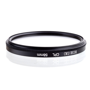 Image 2 - Rise 58 Mm Circulaire Polarisatiefilters Cpl C PL Filter Lens 58 Mm Voor Canon Nikon Sony Olympus Camera