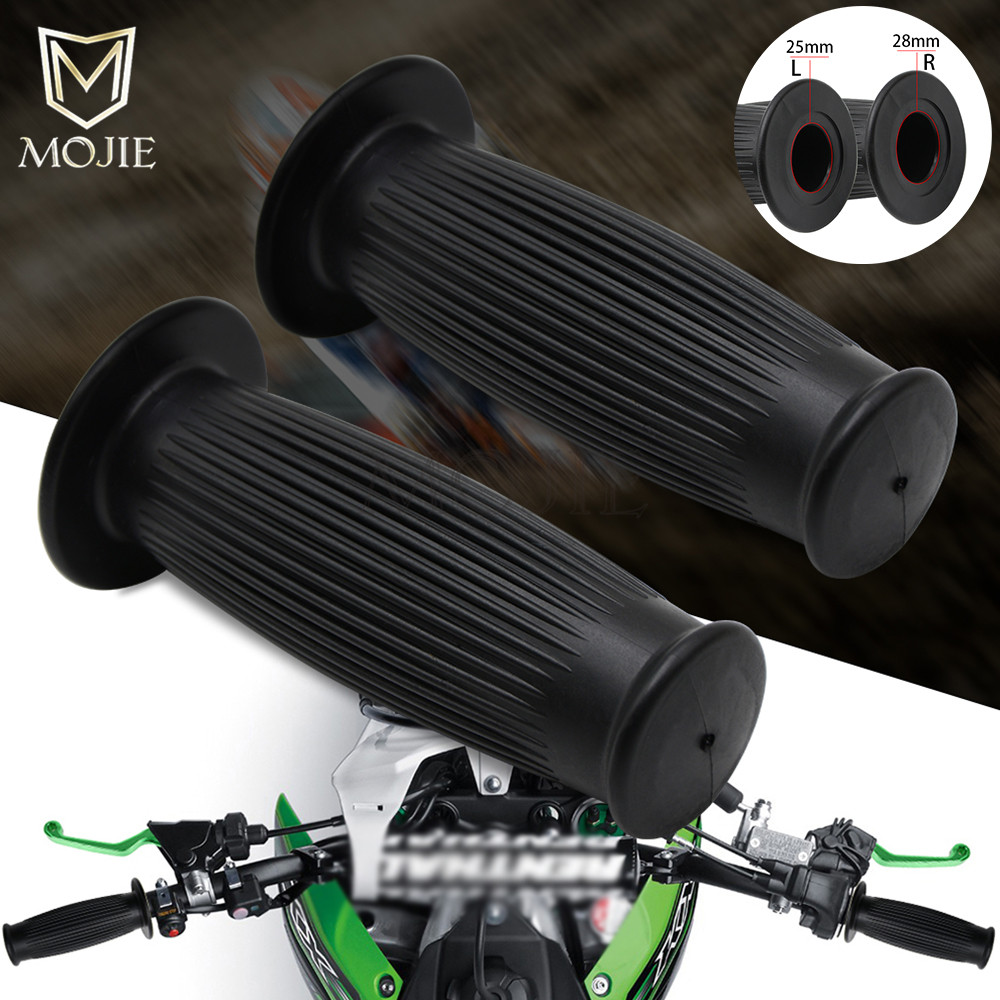 25mm/28mm Motorcycle Hand Grips Handle Rubber Bar handlebar Gel Grips For Harley Honda Suzuki Yamaha Kawasaki KTM dirt bike