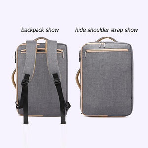 Image 2 - Scione erkekler katı iş dizüstü sırt çantası gizle omuz askısı çanta erkekler kadınlar için öğrenci şifreli kilit eğlence okul sırt çantası