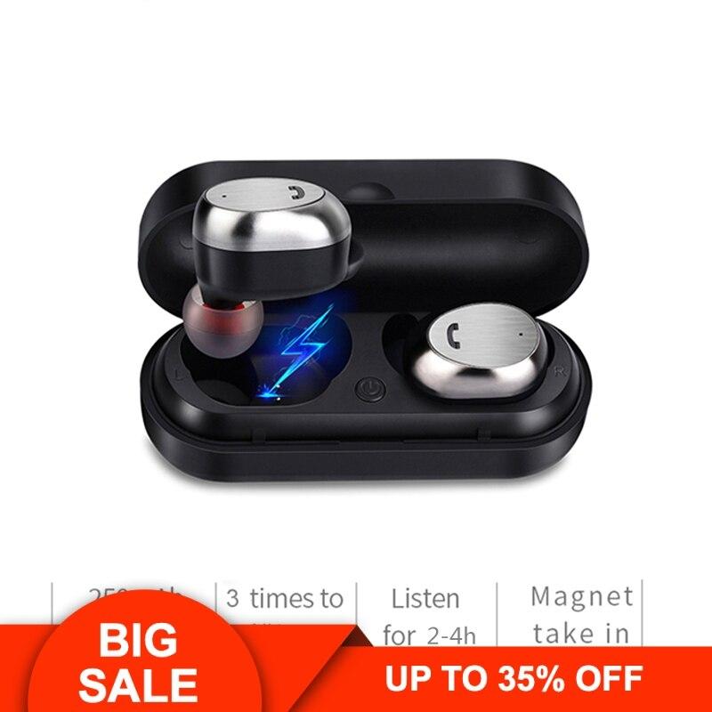 M9 TWS Bluetooth écouteurs véritable sans fil écouteurs sport écouteurs mains libres sans fil écouteurs casque Mini écouteurs avec micro