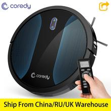 Coredy R500+ 1400PA Clean Robot Vacuum cleaner Automatic Dust Floor Carpet Cleaning Smart Wet Mop Sweep Robotic vacuum For home new 2018 original fr beatle robot vacuum cleaner smart planned cleaning for home office sweep wet mop app control