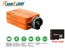 RunCam 2 V2 1080P 60fps HD RunCam2 Ultra HD 120 Degree Wide Angle WiFi FPV Camera Free 16G SD for Quadcopter(China)