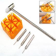 Ремешок для часов, браслет, инструмент для ремонта, инструмент для удаления молотка, пробойник, шпильки, ремешок, держатель, комплект, измерители, инструменты для ремонта