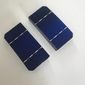 "Image 4 - 25 יחידות 125 מ""מ * 62.5 מ""מ ALLMEJORES Monocrysatlline תאים סולריים 1.4 W 0.5 V כל חתיכה עבור diy 12 V 35 W פנל סולארי מטען"
