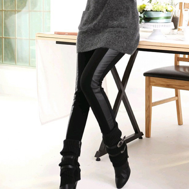 Maternity belly pants legging autumn and winter maternity pants trousers fashion plus velvet thickening winter maternity