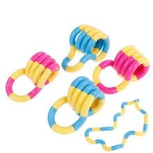 1 Pc Kids Volwassen Anti Stress Hand Zintuiglijke Decompressie Speelgoed Voor Adhd Autisme Vingervlugheid Training Kinderen Speelgoed