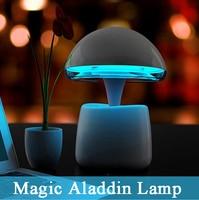 Multi function Aladdin Magic Night Light Table Lamp Remote Control Atmosphere Light Gift with Mini Wireless Bluetooth Speaker