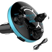 Авто BT13 FM модулятор Bluetooth FM передатчик громкой связи автомобильный аудио mp3-плеер AUX выход двойной USB Автомобильная электроника Аксессуары