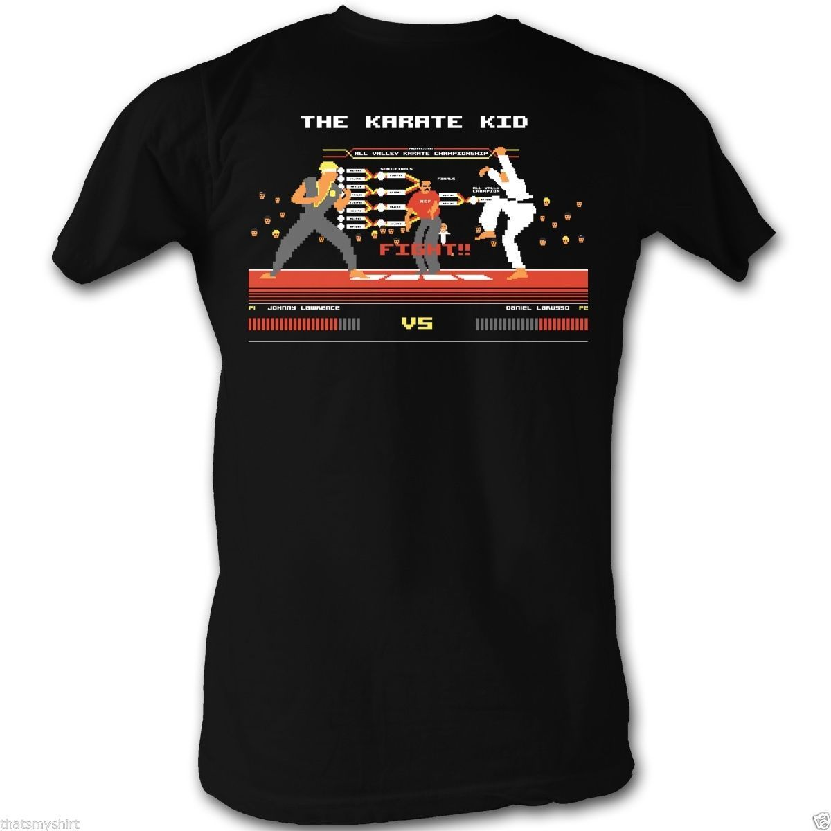 Футболки для женщин Размеры S S-3XL каратэ малыш бит бороться сцены Champ футболка Новые 2018 Для мужчин футболка Модный Топ Футболка плюс размеры