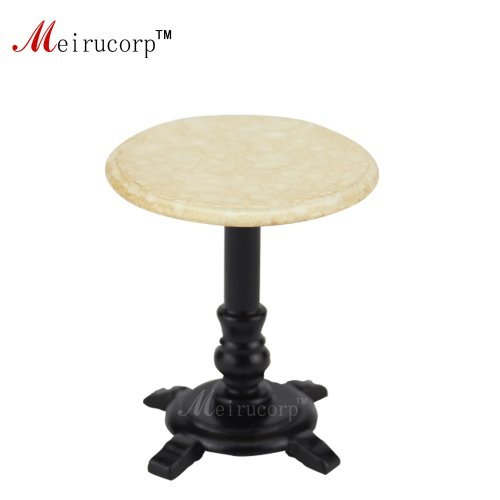 Dollhouses 1//12 scale fine miniature furniture Simple Round table and 2pcs chair