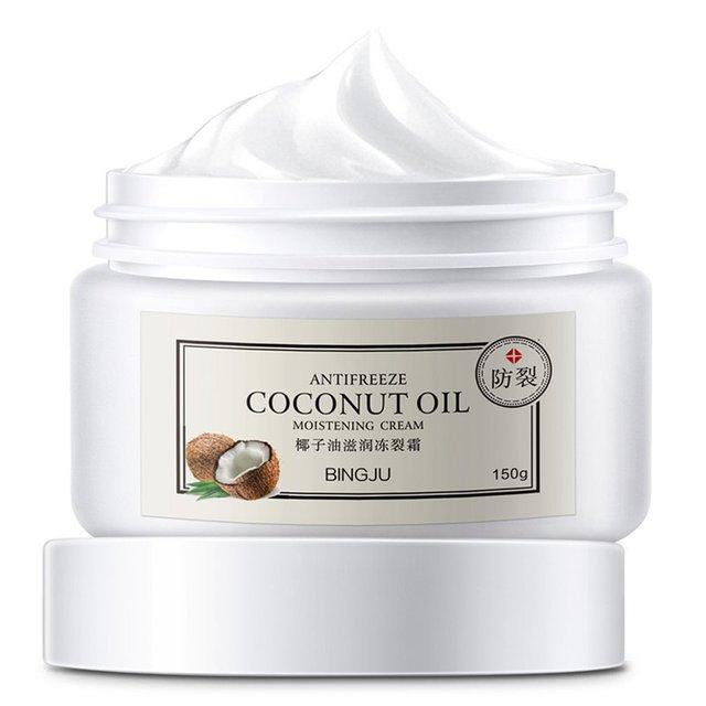 Aceite de coco de crisantemo de hielo hidratante crema de agrietado congelado hidratante para el cuerpo anticongelante productos para el cuidado de la piel