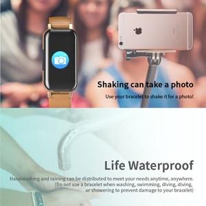 Image 5 - LIGE TWS Binaural fone de Ouvido Bluetooth Inteligente relógio Pedômetro Monitor De Freqüência Cardíaca Relógio Do Esporte Das Mulheres Dos Homens de Fitness Para Android ios + caixa