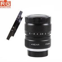 Obiettivo TV tvcc 25mm F1.4 fujiian + anello di montaggio per Nikon 1 J5 S2 J4 V3 AW1 S1 J3 V2 J2 J1 V1