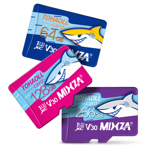 Image 5 - MIXZA HY carte mémoire 256GB 128GB 64GB U3 80 mo/s 32GB carte Micro sd Class10 UHS 1 carte flash mémoire Microsd TF/cartes SD