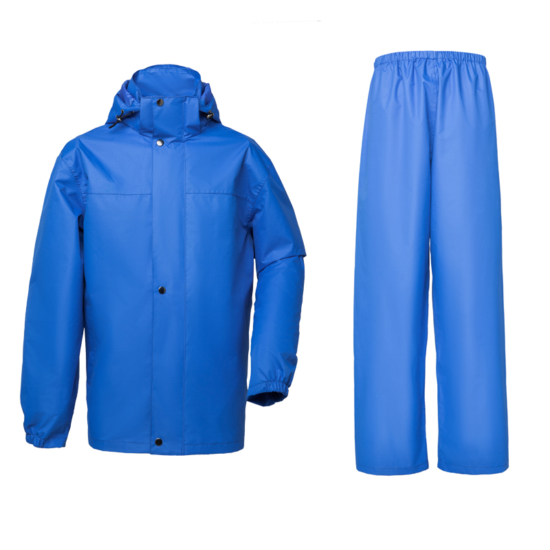 Oxford raincoat rain pants heavy heavy rain gear for Mens fishing rain gear