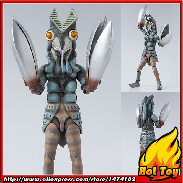 Original BANDAI Tamashii Nations S.H.Figuarts (SHF) Action Figure - Alien Baltan from Ultraman детский костюм zara 2015 1 2 3