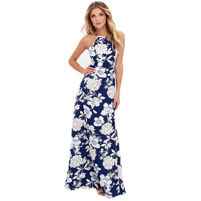 aliexpress : buy robe long maxi dress vintage retro floral