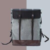 Çizim Çantası Eskiz Kılıf Tuval Moda Su Geçirmez Boyama Kurulu 4 K Taşınabilir Gri seyahat sırt çantası Omuz Büyük Kapasiteli|Eğitim Ekipmanları|   -