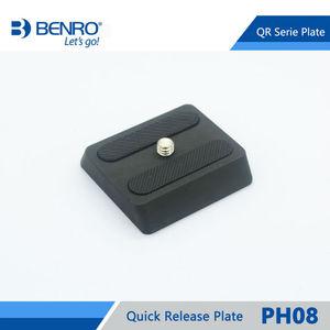 Image 3 - Benro PH08 سريعة الإصدار بلايت المهنية الألومنيوم PH 08 لوحة ل Benro BH0 BH1 HD1 رئيس شحن مجاني