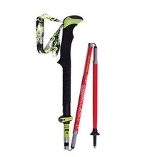 Outdoor Ultra-light Folding Nordic Walking Poles Carbon Fiber Trekking Poles Trekking Stick Alpenstock Carbon Walking Sticks