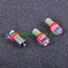 10pcs LED Pilot Light 6V Red BA9S Base Bulb Lamp For Audio Amplifier Guitar Amp
