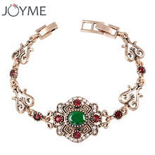 Бренд joyme thailand charm браслеты для женщин Винтажный Золотой