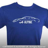 RENAULT ALPINE A110 INSPIRED CLASSIC CAR T SHIRT