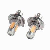 1 Pair H4 Car Lights 12V LED Light 5730 Fog Light Lamp Purple White