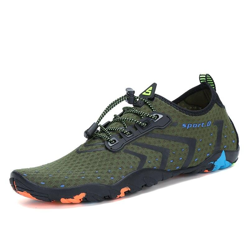 Aqua zapatos de verano hombres zapatillas de playa transpirables Upstream zapatos mujer adulta natación sandalias calcetines Tenis Masculino