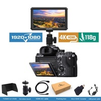 Lilliput A5 5 дюймов Full HD 1920x1080 4 К HDMI на Камера поле монитор 5 дюймов трансляции монитор для ZHIYUN кран 2/DJI Ронин S/FEIYU